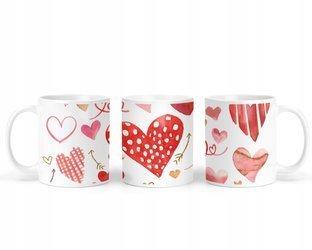 Kubek Miłosny na Walentynki w SERCA Serduszka