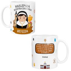 Kubek dla Siostry ZAKONNEJ Personalizowany