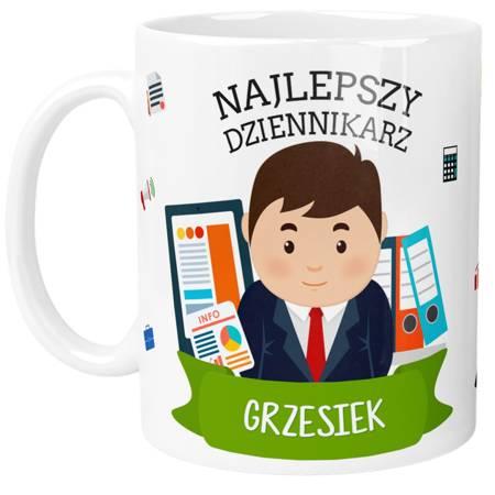 Personalizowany Kubek Najlepszego Dziennikarza